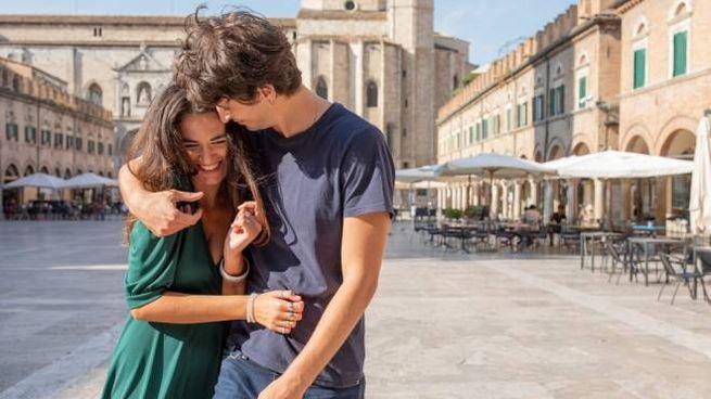 """Federico Calistri e Rebecca Liberati, i protagonisti di """"Non voglio mica la luna"""""""