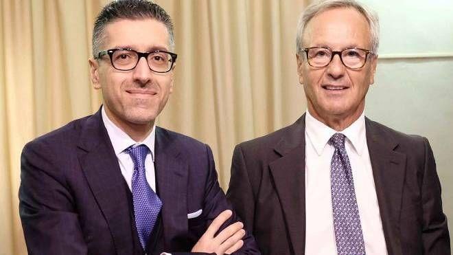 Vincenzo Algeri (a sinistra) e Silvano Manella (a destra)