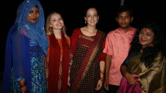 Ilaria Ferrari in Bangladesh