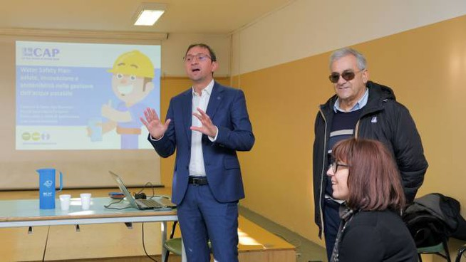 Alessandro Russo (Cap) illustra il progetto