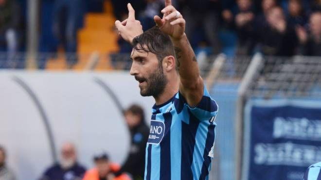 Riccardo Capogna, attaccante del Lecco