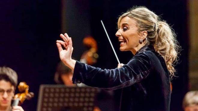 La pianista e direttrice d'orchestra Mirca Rosciani