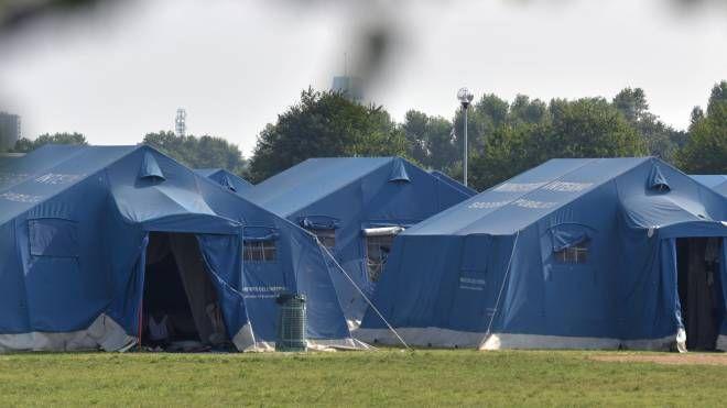 Il campo profughi di Bresso