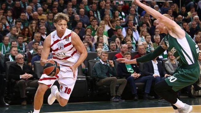 Mindaugas Kuzminskas, non è riuscito a vincere nella sua Lituania