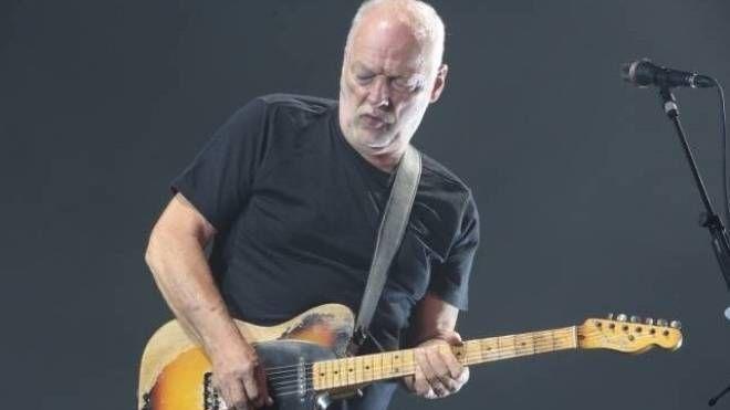 David Gilmour, chitarrista e cantante dei Pink Floyd