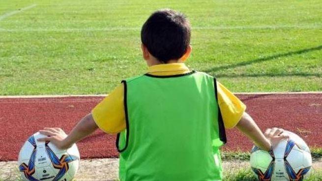 Un giovane calciatore