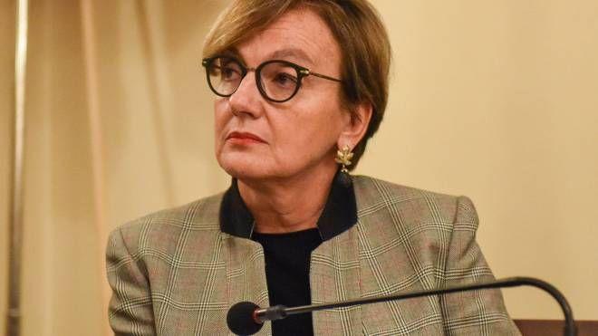 Alessandra Guidi, vicecapo della polizia, è intervenuta ieri al convegno sulla sicurezza organizzato dal Comune (foto De Marco)