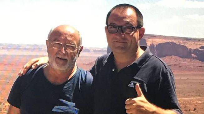 Antonino Masetti con il figlio Francesco