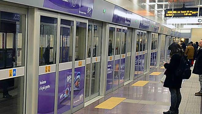 Metropolitana linea lilla