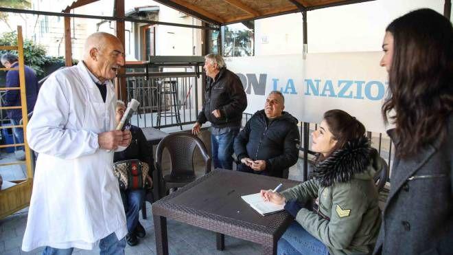 La Nazione in tour: tappa a Capraia Fiorentina (foto Gasperini/Germogli)