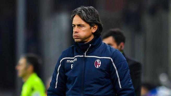 """Bologna, Fenucci: """"La panchina di Inzaghi non è in discussione"""" (Ansa)"""