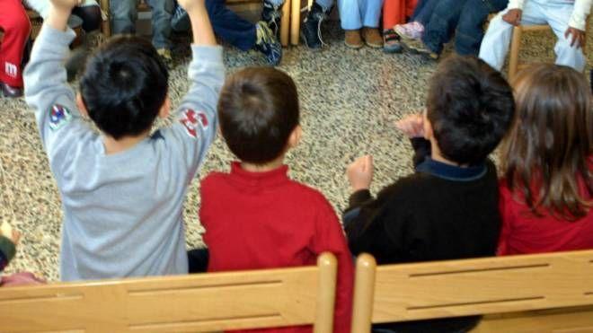 Bambini all'asilo, foto generica (Ravaglia)
