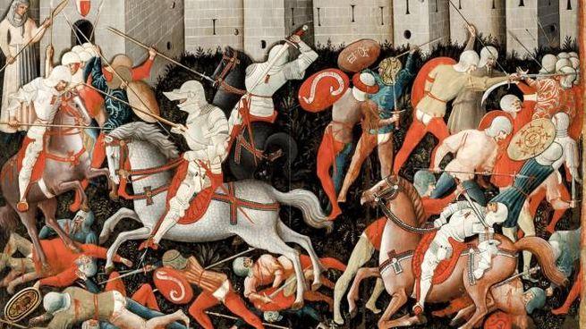 Nicola di Ulisse da Siena 'Santandrea e la battaglia fra ginesini e fermani'