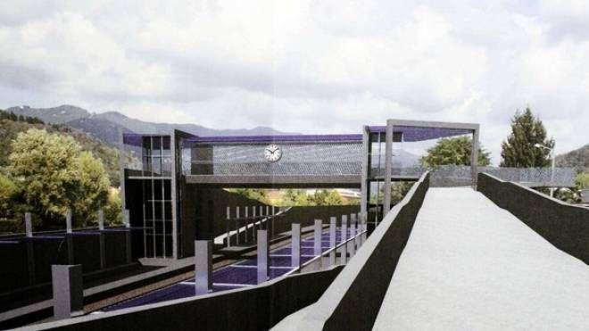 Il rendering del progetto per la nuova stazione di Camerlata