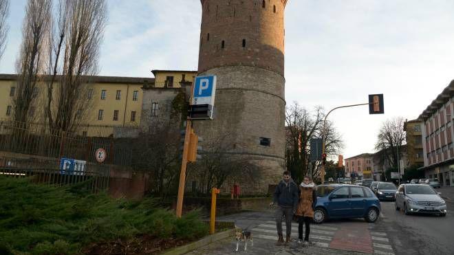 Il parcheggio di viale Dalmazia
