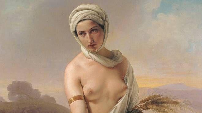 La 'Ruth' di Francesco Hayez, simbolo dell'esposizione