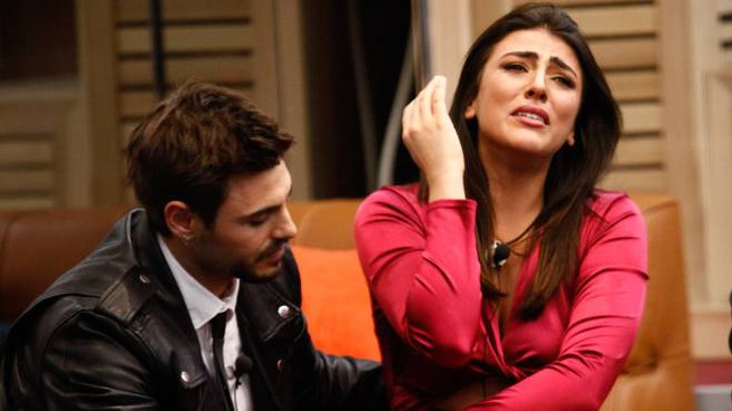 Francesco Monte e una disperata Giulia Salemi (Endemol Shine Italy)