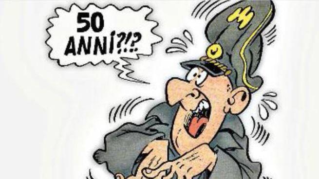 I soldati tedeschi di Bonvi compiono 50 anni