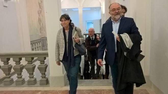 L'assessore Stefania Saccardi e il direttore Paolo Morello