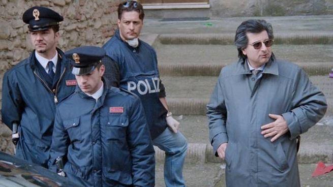 Michele Giuttari nel 1998, quando era il capo della squadra mobile di Firenze