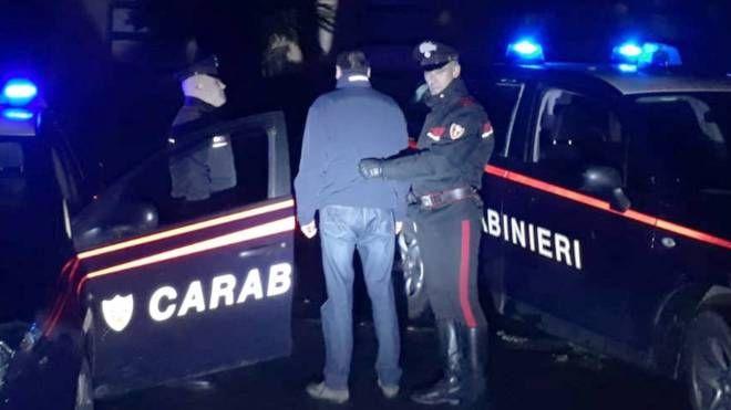 Sono intervenuti i carabinieri della compagnia di Sarzana