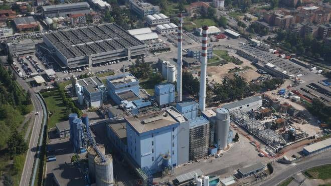 Una foto panoramica della centrale Lamarmora