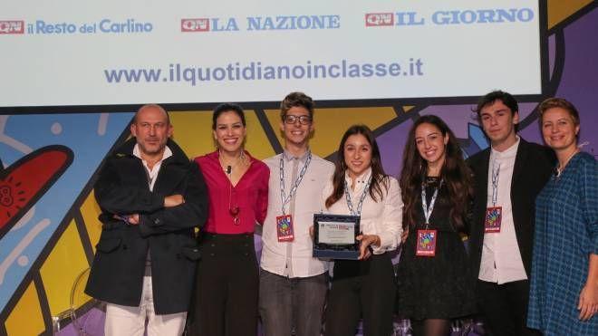 La classe del liceo Filelfo di Tolentino che ha vinto www.quotidianoinclasse.it (Germogli)