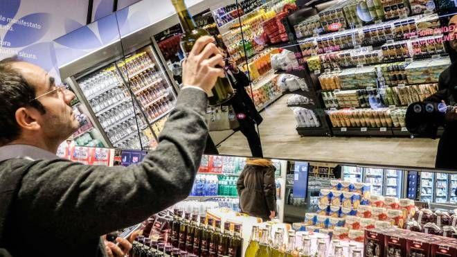 Inaugurazione del nuovo supermercato del Futuro COOP