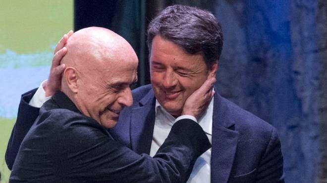 Marco Minniti e Matteo Renzi (Imagoeconomica)