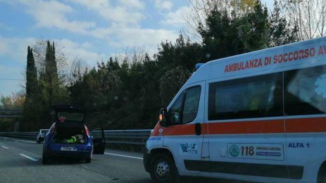 L'incidente sull'Ascoli-mare