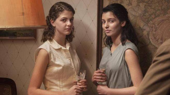 """Una foto di scena tratta dalla fiction """"L'amica geniale"""" (Ansa)"""