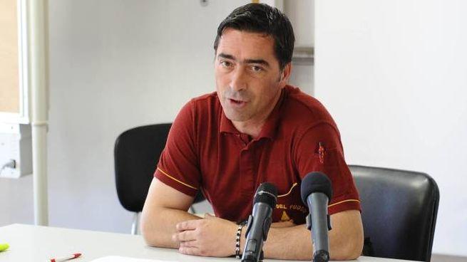 Stefano Colasanti, il vigile del fuoco morto sulla Salaria (Ansa)