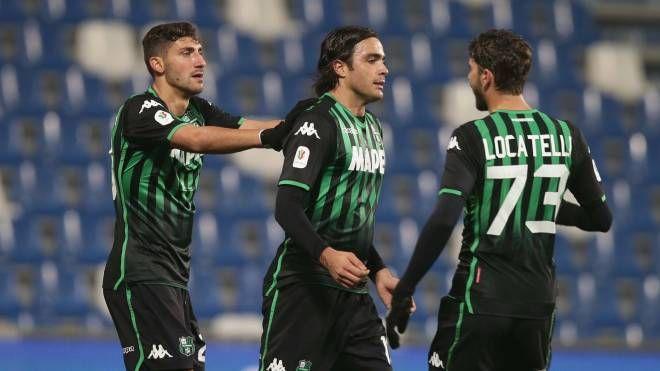 Il Sassuolo batte il Catania in Coppa Italia grazie ai gol di Matri e Locatelli (Fiocchi)