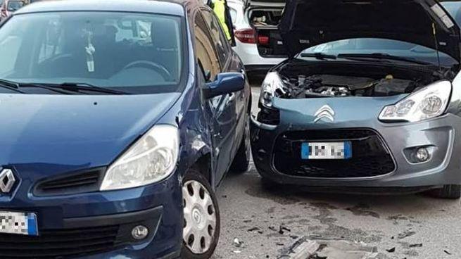 Ascoli, incidente a Porta Cappuccina