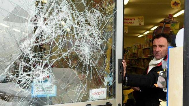 Ferrara, un'azienda 'visitata' dai ladri (Foto Businesspress)