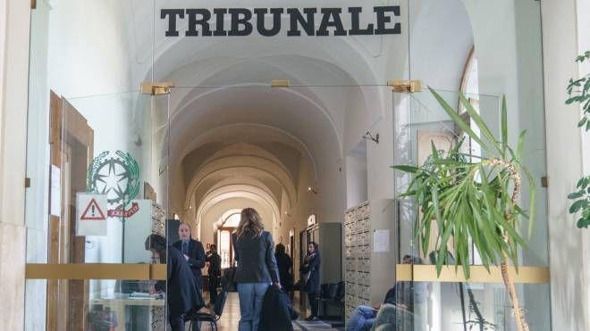 L'interno di un tribunale (foto d'archivio Zeppilli)
