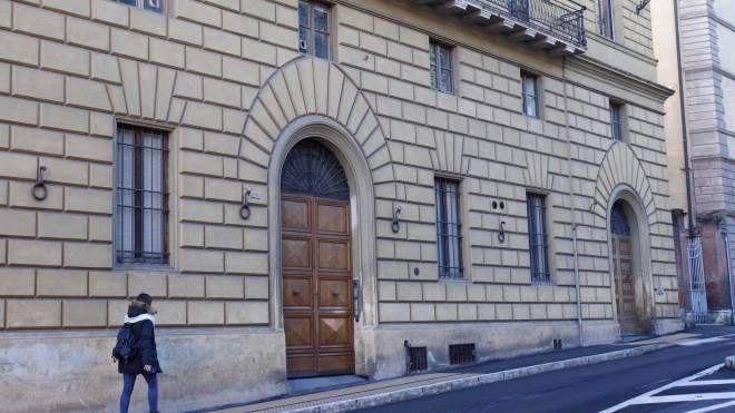 La sede della Sansedoni (Di Pietro)