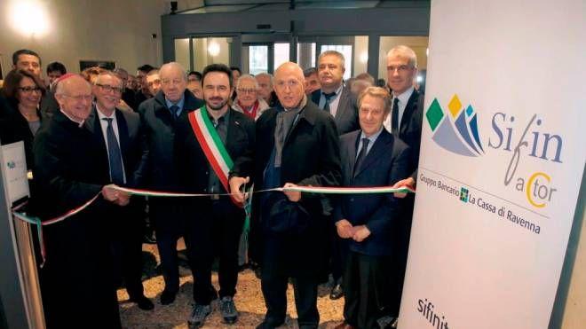 L'inaugurazione della nuova sede della Sifin Srl