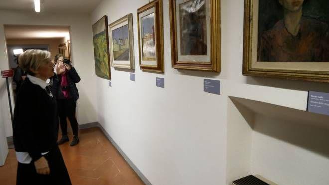 Uno scorcio della galleria (Foto Attalmi)