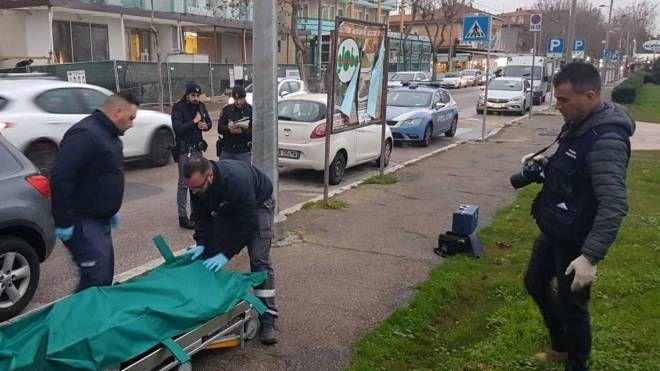 Il ritrovamento del corpo di Angelo Antonio Tiberio in un'auto a Miramare