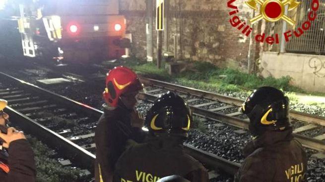 Incidente ferroviario, gravi tre operai