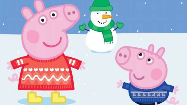 Peppa Pig per Christmas Jumper Day