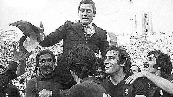 Gigi Radice nell'anno del trionfo con il Torino