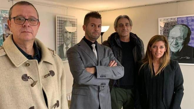 Paolo Sacchetti, Alberto Orsi, Roberto Bergamaschi e Alessandra Farina