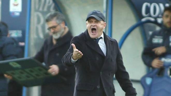 Iachini durante Empoli-Bologna (Tommaso Gasperini / Fotocronache Germogli)