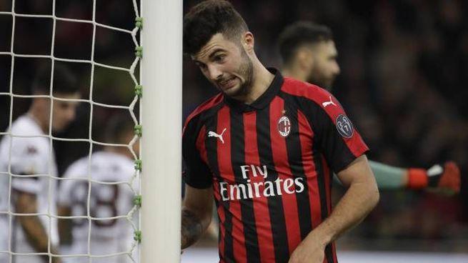 Milan-Torino, Cutrone manca il gol dell'1-0 (Ansa)