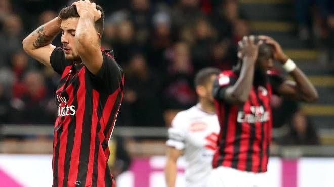 Milan-Torino, Cutrone fallisce una palla gol (Ansa)