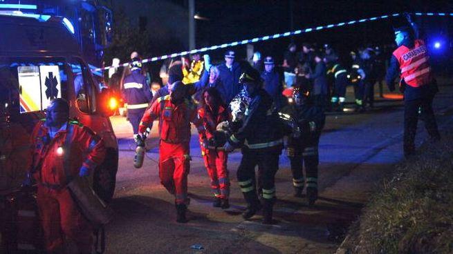 Ancona, morti in discoteca a Corinaldo: i soccorsi (Foto Antic)