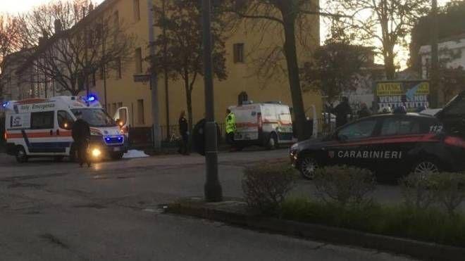 Rovigo, la strada dove Luciana Sattin ha avuto il tragico malore
