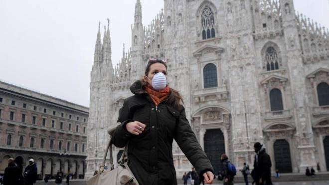 Aria inquinata a Milano